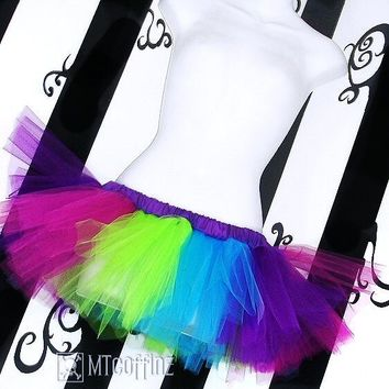 My Neon is Showing TuTu Skirt adult ALL Sizes MTCoffinz