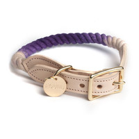 Purple Fade Rope Cat & Dog Collar