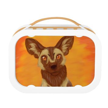 African Wild Dog Lunch Box