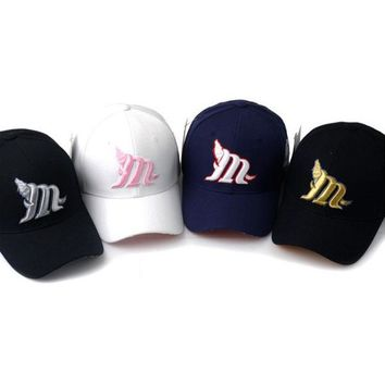 New Fashion Fashion Unisex Baseball Cap Hat Ball Caps Adjustable Sun Visor Letter Emboridery