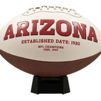 Signature Series Team Full Size Footballs - Arizona Cardinals