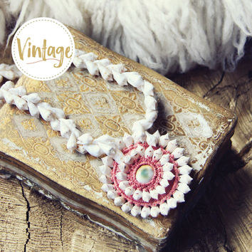 Vintage 70's Bohemian Necklace