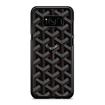 Goyard Black Samsung Galaxy S8 Plus Case