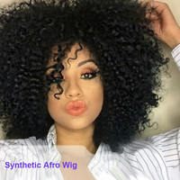 Synthetic Afro Wig