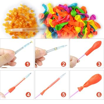 120pcs Magic Latex and Rubbers Balloons For Water Balloons Bunch Bombs Beach Toys Multicolor Summer Outdoor Toys For Children