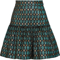 Dolce & Gabbana - Metallic jacquard mini skirt