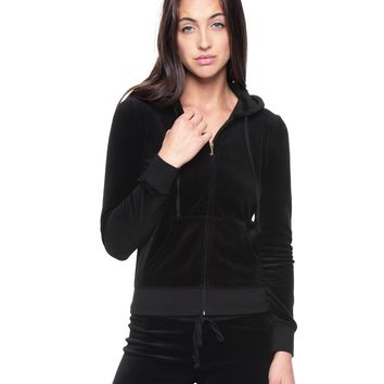 Juicy Hood Gothic Velour Robertson Jacket