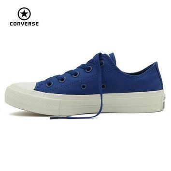 CREYUG7 NEW Converse Chuck Taylor All Star II low men women's sneakers canvas shoes Classic pu