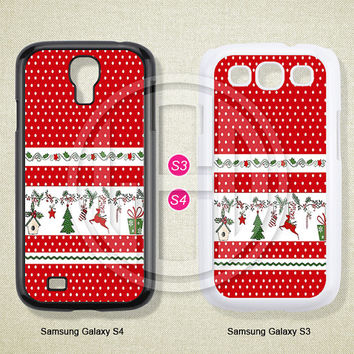 Christmas,Phone cases, Samsung Galaxy S3 S4 S5 Case, Samsung Galaxy Note 2 3 case, Case for Samsung--S0591