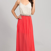 Spaghetti Strap Long Casual Maxi Dress