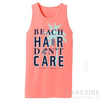 Beach Hair Don't Care Tank | Lakeside Cotton