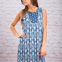 Go For A Ride Dress, Navy