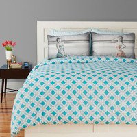 Dream Between the Lines Duvet Cover in Twin