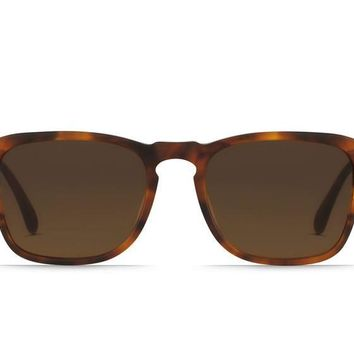 Raen - Wiley Matte Rootbeer Sunglasses