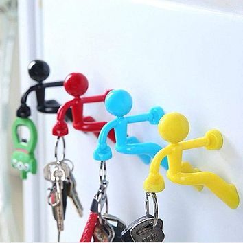 Creative Fridge Magnetic Key Hook