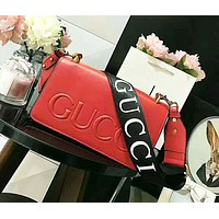 GUCCI beautiful lady wallet  shoulder bag handbag letters bag