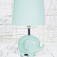 Elephant Lamp UK Plug in Mint - Urban Outfitters