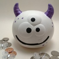 Lilly the Monster Bank from Just for Littles
