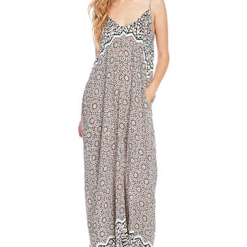Pebble Mosaic Maxi Dress
