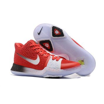 Nike Kyrie Irving 3 Red/White Sport Shoes US7-12