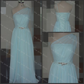 Custom Beaded chiffon Prom Dresses Fashion Evening Gowns Formal Party Dress Cocktail Dress Dress Party Evening Dresses