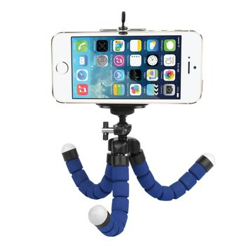 SHOOT Flexible Mini Octopus Tripod for GoPro SJCAM Xiaomi Yi Action Camera With Phone Clip Tripod Stand Mount For Mobile Phone