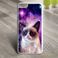 Funny Galaxy Stylish Grumpy Cat Custom case for iPhone, iPod and iPad