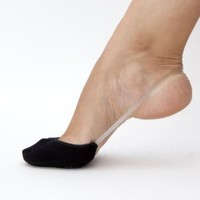 Amazon.com: SHEEC - SlingBack - Cotton Hidden No-Show Socks (Black): Clothing