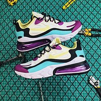 Nike Air Max 270 React Bright Violet Shoes