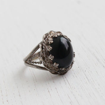 You vintage onyx rings all logical