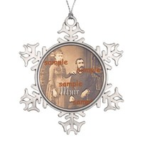 Ornament - Snowflake - Ancestor with Name