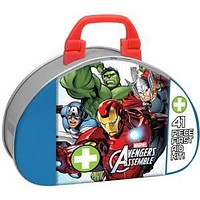 Marvel Avengers Assemble™ Kids First Aid Kit, 41-Piece Tin