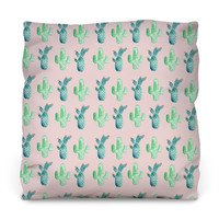 The Cactus Outdoor Throw Pillow