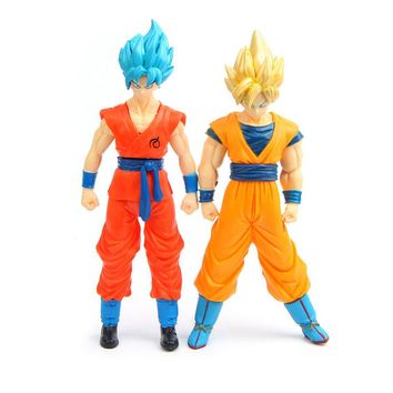 Dragon ball Z Super Saiyan Goku Vegeta figuras 2017 New Dragon ball Z Dragonball action figure son of goku vegeta model figurine