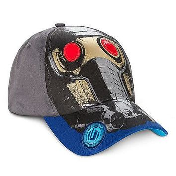 Licensed cool Marvel Guardians of the Galaxy Baseball Cap Star Lord Boys Kids Hat Disney Store
