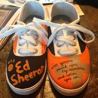 Customizable Ed Sheeran Shoes