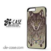 Wolf Wearing Dream Catcher DEAL-11980 Apple Phonecase Cover For Iphone 6 / 6S
