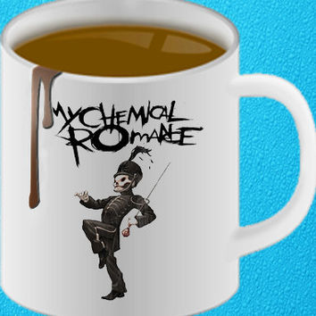 my chemical romance mug heppy coffee.
