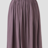 Sun Kissed Midi Skirt In Taupe