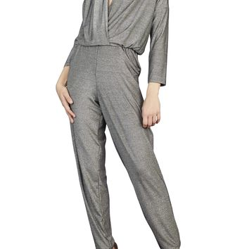 Easy Jersey Jumpsuit with Sleeves -Sale