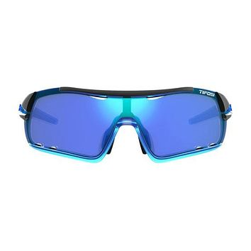 Tifosi - Davos Crystal Blue Sunglasses / Clarion Blue AC Red Clear Lenses
