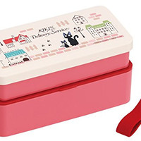 Studio Ghibli Kiki's Delivery Service Japanese Style 2-tier Bento Lunch Box