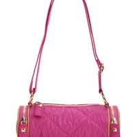 Hollywood Hideaway Nylon Crossbody Barrel by Juicy Couture
