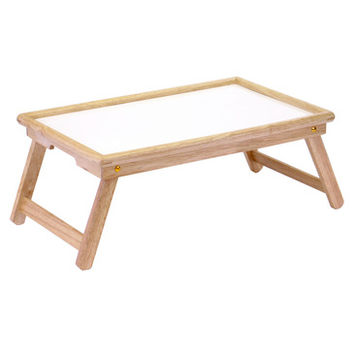 Winsome Wood Breakfast Bed Tray w/ Notched Handle