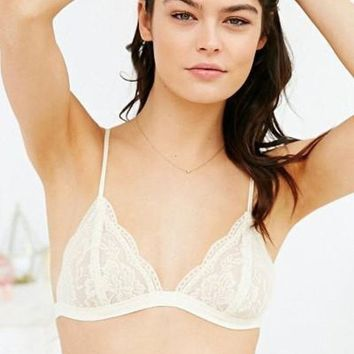 The Mindy Triangle Lace Bralette (+ Colors)