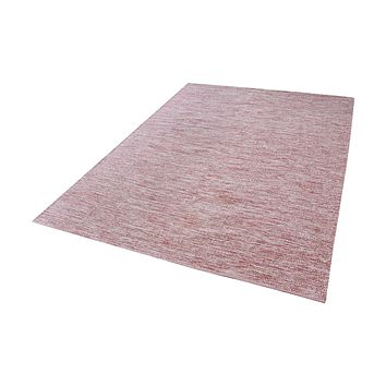 8905-012 Alena Handmade Cotton Rug In Marsala And White - 2.5ft x 8ft