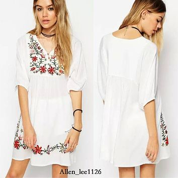 Summer Pregnant Dress Blouses Shirts Clothes Top Maternity Dresses Clothing For Pregnancy Plus Size 2017