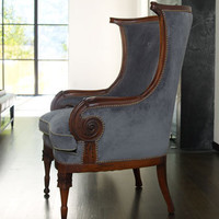 Meadow Blues Chair - Horchow