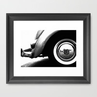 VW Beetle Framed Art Print by Ingz