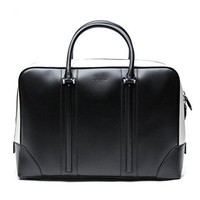 Givenchy Women's Monochrome Zipped Real Leather Handbag
